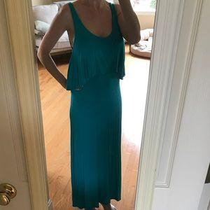 Super soft teal maxi dress